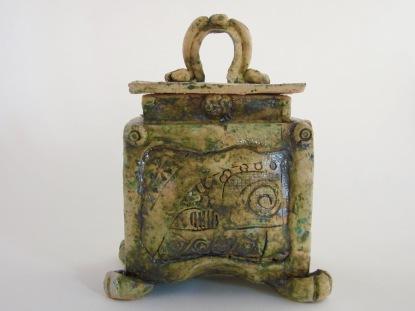 Celtic Style Tea Caddie £25